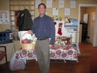 Chiropractor in Freehold NJ, Dr. Russell Brokstein, collects food and coats for the holidays